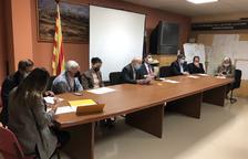 El pleno de renuncia de Josep Regué como alcalde de Cubells.