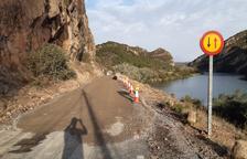 Reobren parcialment la carretera entre Sant Llorenç i Camarasa
