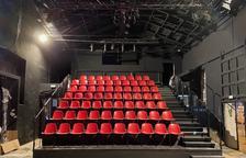 Una vista interior de La Mercantil, amb les butaques a punt per a l'estrena aquest cap de setmana.