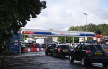 Pànic al Regne Unit per la falta de combustible