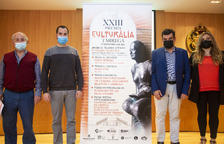 Presentación ayer en Tàrrega de la 23 edición de los recuperados Premis Culturàlia.