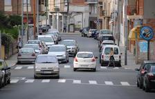 L'ajuntament suprimirà vint places d'aparcament a Domènec Cardenal