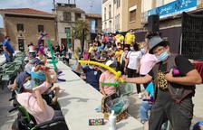 Dues-centes persones amb discapacitat participen en el Montgai Màgic
