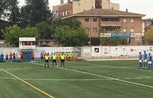 L'Alcarràs empata en l'afegit amb l'Atlètic Lleida