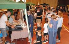 La Mostra de Formatges de El Palau atrae mil personas