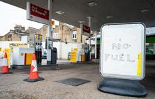 L'Exèrcit distribueix gasolina al Regne Unit