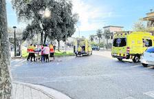 Heridos un conductor en Tàrrega y un peatón en Balaguer