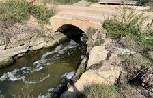 Alcoletge repara dos puentes dañados por el temporal de 2019