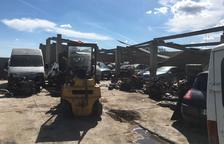 Investigada una granja per desmuntar vehicles sense permís a Alcarràs