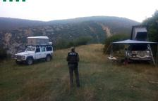 Acampada ilegal en Boumort
