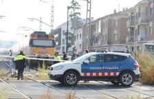 Mor una dona de 66 anys atropellada per un tren en un pas a nivell a Mollerussa