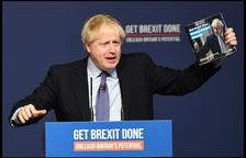 Johnson veu inviable l'acord del Brexit que va firmar el 2020