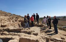 Mostren les últimes troballes al poblat iber de la Saira