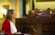 La vicepresidenta tercera i ministra de Transició Ecològica i Repte Demogràfic, Teresa Ribera, defensa al Congrés el RD-L de mesures urgents per mitigar l'impacte de l'escalada de preus del gas natural als mercats minoristes.
