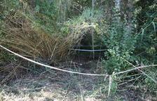 El cadáver de Albesa es de un hombre adulto y se presume que fue asesinado