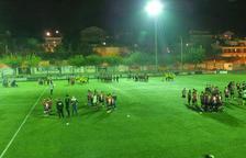 L'Escola de Futbol Tàrrega exhibeix els seus 19 equips