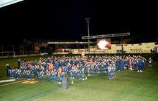 L'Escola de Futbol Mig Segrià presenta els seus 218 jugadors repartits en 16 equips