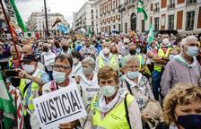 Marcha en Madrid para exigir unas pensiones dignas