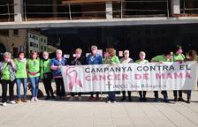 Maria José Badia, una vecina de 51 años de El Pont de Suert, relata su lucha contra el cáncer de mama