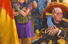 L'ajuntament de Torrelameu rep amenaces per un quadre sobre la família reial