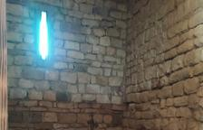 Roben una estufa de pèl·let a la Col·legiata de Castell de Mur