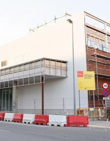 Les obres de la nova biblioteca de Torrefarrera, ubicada al carrer Corts Catalanes, encaren la recta final.