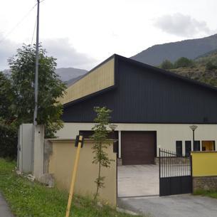 Las instalaciones de la depuradora de Vielha, una de las diez que gestionará la UTE EDAR Val d'Aran.