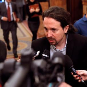 El secretari general de Podemos, Pablo Iglesias.