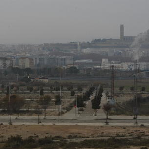Vista de la zona de Torre Salses, entre la Bordeta i Magraners.