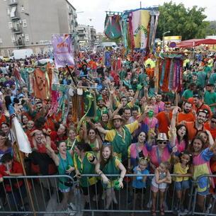 Imagen de archivo de las peñas de las fiestas de Pardinyes.