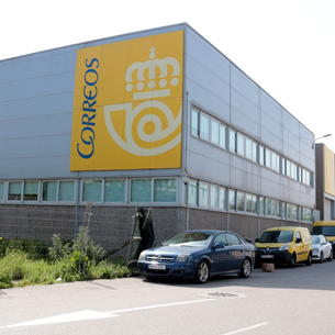 Correus tanca un centre logístic de Lleida per un treballador amb símptomes de coronavirus