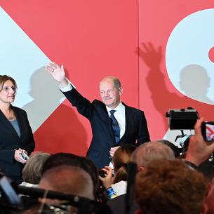 El socialdemócrta Olaf Scholz, ganador de los comicios, ya ha iniciado contactos con verdes y liberales.