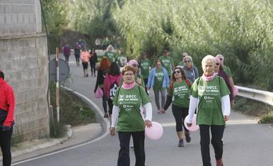 Caminada contra el càncer de mama
