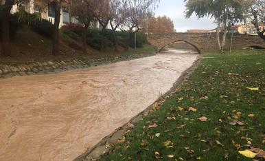 Temporal de pluja novembre 2016
