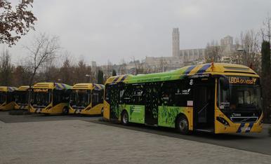 Nous autobusos híbrids a Lleida