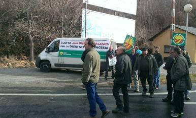 Cortes de carreteras convocados por UP