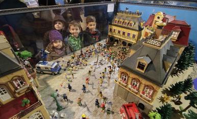 Exposición de Playmobil a Lleida.