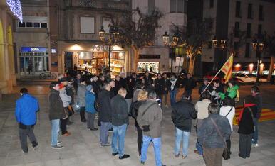 Manifestacions a Lleida per la llibertat de Joan Coma
