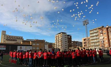 Homenatge del Balaguer a Yerai