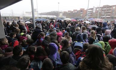 Minuts de silenci pel doble crim a Aspa