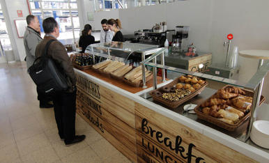 Nova cafeteria a l'estació de trens de Lleida