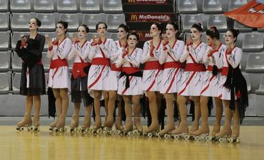 Imágenes del Campeonato de España de Patinaje de Grupo Shows
