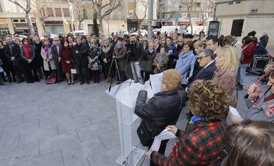 Acte institucional del Dia de la Dona a Lleida