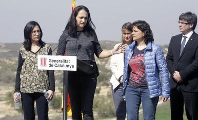 Homenatges als agents rurals morts a Aspa