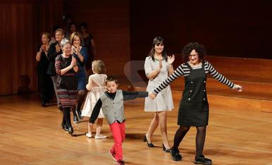 Desfilada de moda i costura a l'Auditori