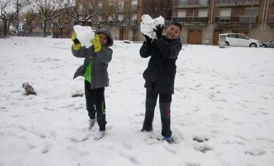 Neu al març