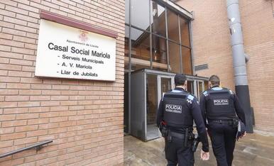 Vigilancia en el local de la Mariola contra altercados