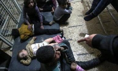 Bárbaro ataque con armas químicas en Siria