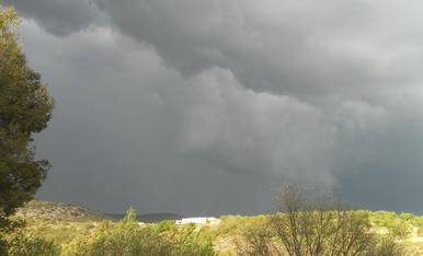 nuvols de tormenta.