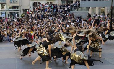 Lleida s'omple de dansa